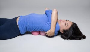 The Miracle Ball Method - Elaine Petrone, laying on balls to relieve pain and reduce stress